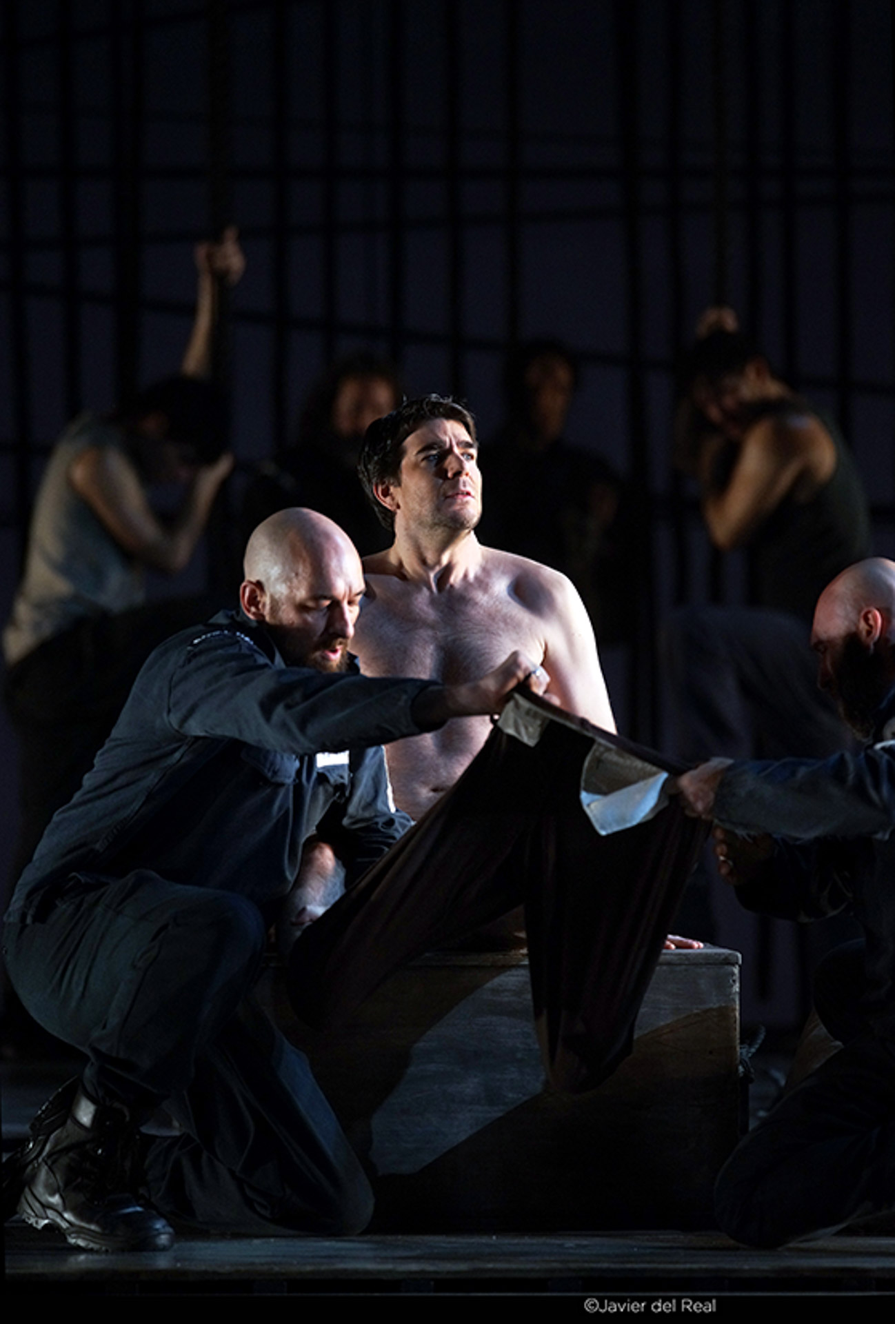 Isaac Galán - Billy Budd (Arthur Jones) - Teatro Real Madrid