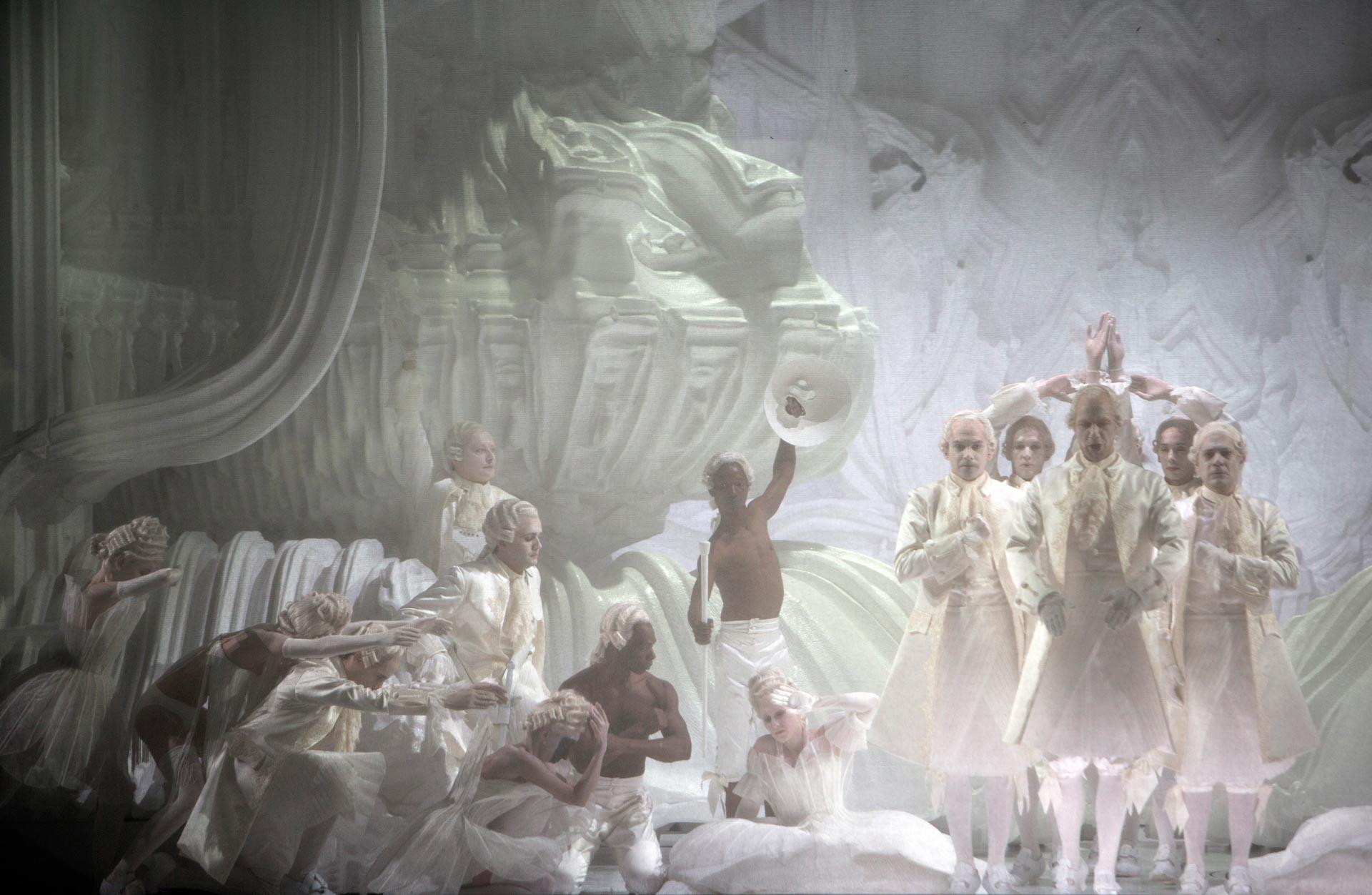 La Monnaie Brussels - Magic Flute - Castellucci production (© Bernd Uhlig)